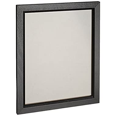 Craig Frames 7171610BK 16 by 24-Inch Picture/Poster Frame, Wood Grain Finish, .825-Inch Wide, Solid Black