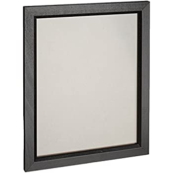 craig frames 7171610bk 18 by 24 inch pictureposter frame wood grain finish 825 inch wide solid black