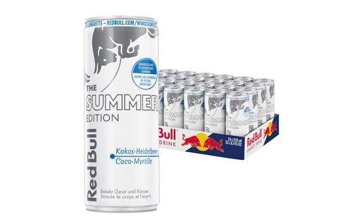 Red Bull Kühlschrank Beleuchtung : Red bull summer edition tropical fruit dosen mit je liter