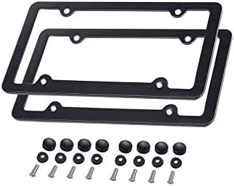 Ibetter 2 Pack License Plate Frame, Thick Car Licence Plate Holder