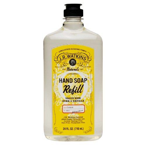 J.r. Watkins Naturals Lemon Hand Soap Refill 24 Fl Oz (Pack of 2)