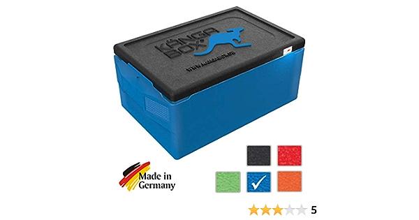 KÄNGABOX Professional Plus. La Caja isotérmica con un Interior Liso y Tapa Cerrando Perfectamente. asa Confortable por Arriba. Ideal para la Cadena de proveer de Acuerdo a los estándares HACCP: Amazon.es: Deportes