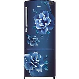 Samsung 230 L 3 Star Inverter Direct-Cool Single Door Refrigerator (RR24T275YCU/NL, Camellia Blue)