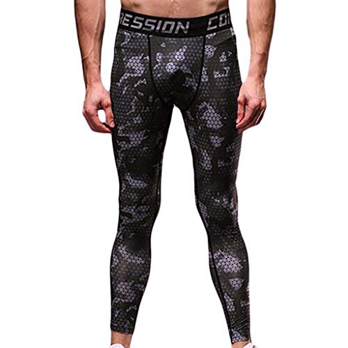 Funzionali Caldi Mutande White Battercake A Da Comodo grau Compressione Lunghe Leggings Pantaloni Sportivi Collant Uomo O0v07wBqr