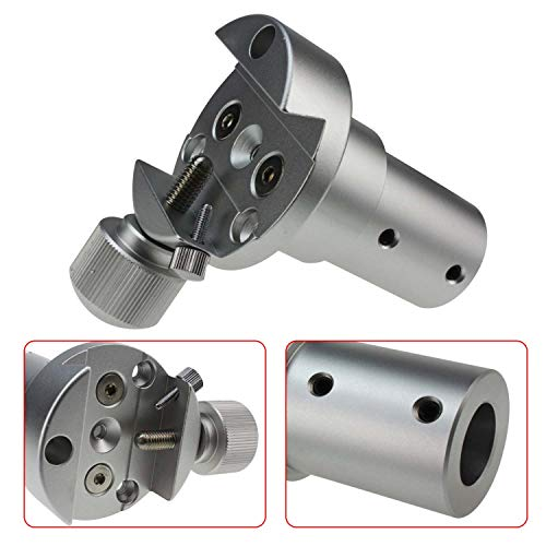 Astromania Dovetail Clamp Messier Vixen-Style - Piggy Back Camera Holder for 20mm Counterweight Shaft for Telescope Mounts