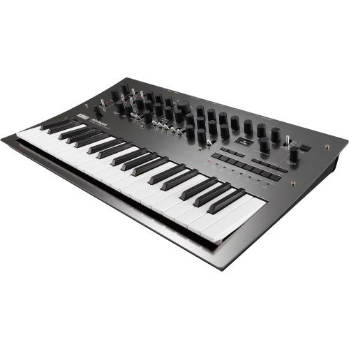 Korg MiniloguePG Limited Edition Polyphonic Analogue Synthesizer in Polished Gray