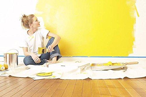 American Terry Mills CDC-ATM-3x12 Heavy Weight Canvas Drop Cloth/Painters Duty Polyethylene Cloth, 3