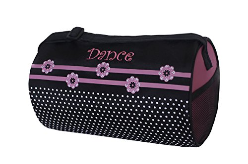 Sassi Designs Flower Dot Small Roll Duffel Bag Size: Small 7
