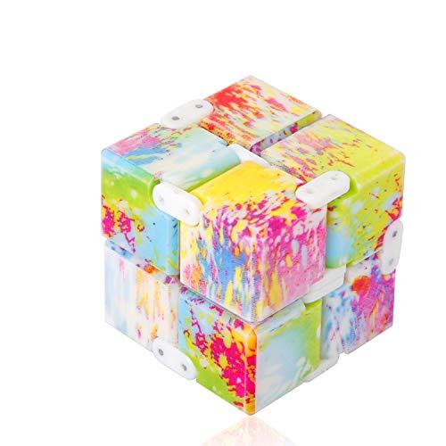 ss shovan Infinity Cube Fidget Cube Toy Hand Killing Time Prime Fidget - For Kids Toys Adhd Bet