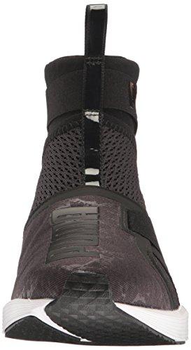 Puma Cross WN's Puma puma Shoe Black White Trainer Strap WoMen Fierce awSp4xaqr