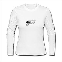 Amazon Womens Fashion Chris Paul Logo Long Sleeve T White US Size L 6687916225488 Books