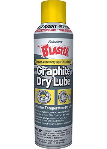 B'laster 8-GS-12PK Industrial Graphite Dry Lubricant - 5.5-Ounces - Case of 12 ()