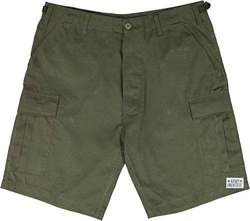 "Army Universe Olive Drab Military BDU Cargo Shorts Pin Size Medium (Waist 31-35"")"
