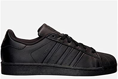 adidas Originals Unisex-Erwachsene Superstar Niedrig Schwarz (Core Black/Core Black/Core Black) 48 EU