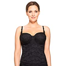 Ulla Women's Underwired Padded Basque with Multiway Straps 3485