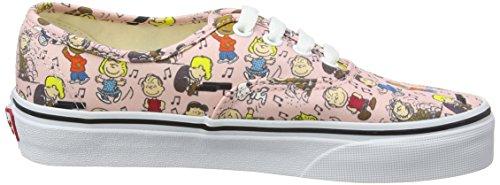 Hellrosa EU Authentic Erwachsene Pink Peanuts Dance Party Peanuts 44 5 Unisex Vans Mehrfarbig Sneaker XAqHxppF