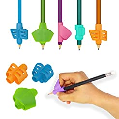 Pack of 6 Pencil Grips - Pencil Grippers...