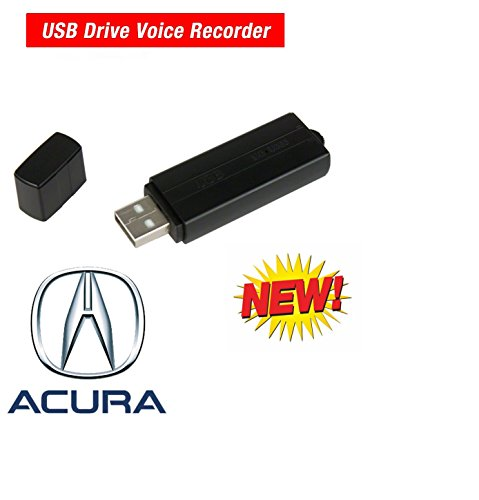 Acura USB Voice Recorder Digital Audio Flash Drive by Cache Bundle