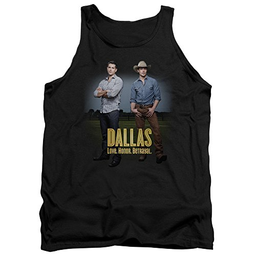 Dallas Soap Opera Drama TV Series CBS The Boys Adult Tank Top (Lg Opera Tv)