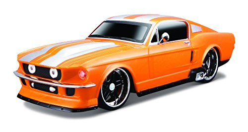 Maisto R/C 1:24 Scale 1967 Ford Mustang GT Radio Control Vehicle (Colors/ Mhz May Vary) - Pro Rodz Series