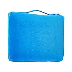 Amazon Basics 13.3″ Professional Laptop Case Sleeve Bag (With Retractable Handle) – Blue