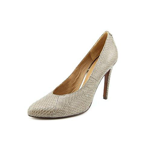 Gray Snake (Coach Woman's Urban Gloss Snake Gray Heels (8))