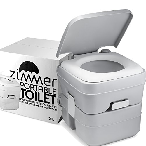 5 gallon Portable Toilet for camping