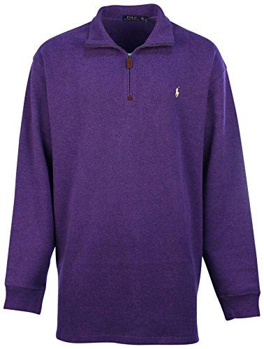 Polo Ralph Lauren Men's Big & Tall Fleece 1/2 Zip Mock Sweater