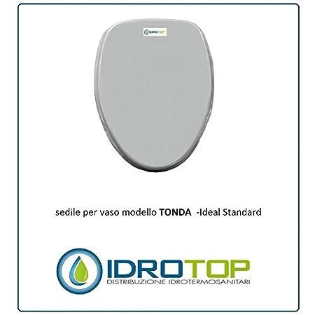 Asse Water Ideal Standard.Ideal Standard Toilet Round White Zip Cromo Sedile Asse Toilet