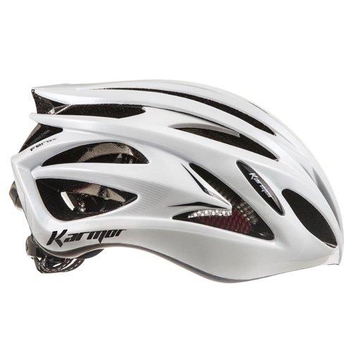 Karmar(カーマー) FEROX JCF公認 サイクリングヘルメット Large ホワイト B01A892IGG