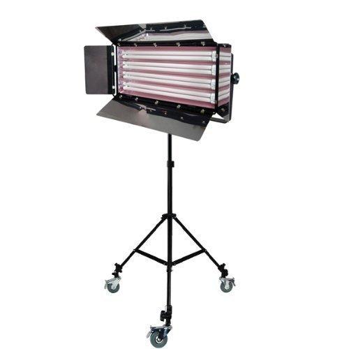 LimoStudio Photo Video Studio 550W Digital Light Fluorescent 4-Bank Barndoor Light Panel, AGG1009