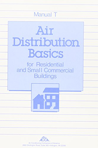 Manual T: Air Distribution Basics for Residential & Small Commercial Buildings