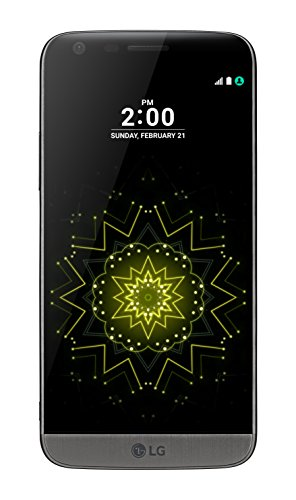 LG G5 H850 32GB (GSM Only, No CDMA) Factory Unlocked 4G/LTE Smartphone (Titan Grey) - International Version with No Warranty