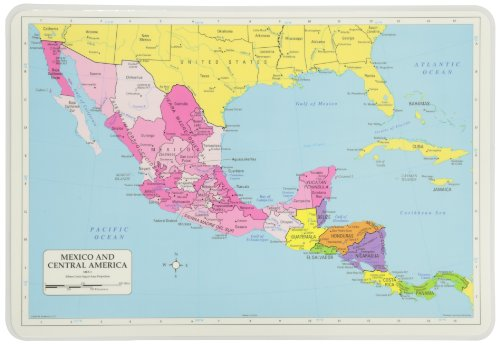 Painless Learning Central America Placemat product image