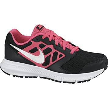purchase cheap 874e1 d9fa4 Nike Girl s Down Shifter 6 GS PS Footwear - Black Grey Red