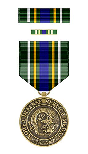 Korean Defense Service Medal Complete Box Set (As Issued by US Military)