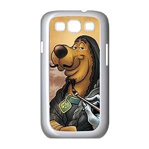 Customize Cartoon Scooby Doo Back Case for SamSung Galaxy S3 I9300 JNS3-1362