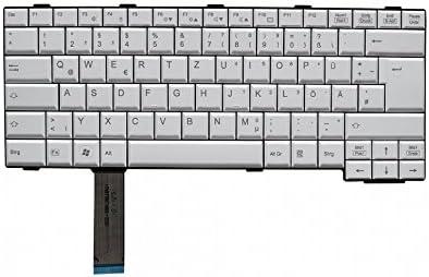 Fujitsu cp474611 – 01 de teclado, Alemán (de) – Blanco ...