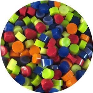 Rainbow Dot Assortment - 90 Coe (Millefiori Mosaic Art Glass)
