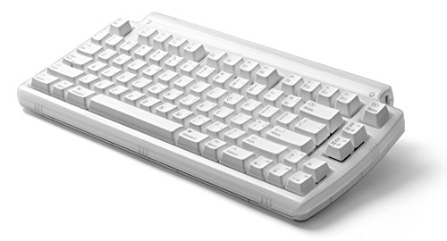 Matias FK303 Mini Tactile Pro USB Wired Tenkeyless Keyboard with Built-in 3-Port Hi-Speed USB 2.0 Hub - Compatible with Mac (Quiet Pro Keyboard For Mac)