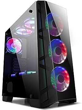 GOLDEN FIELD ATX/ATX Micro/ITX Cajas de la Computadora para PC de la Computadora de Escritorio (SERIE Z, Z7): Amazon.es: Electrónica