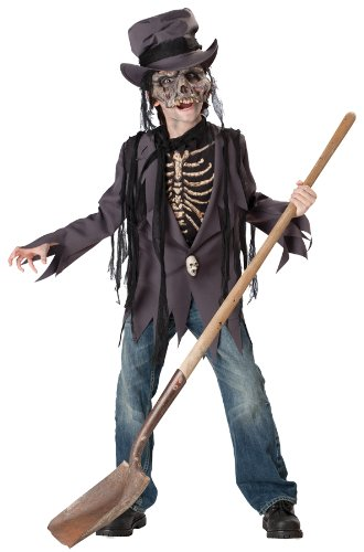 Robber Costume Ideas (Grave Robber Child Costume - Medium)