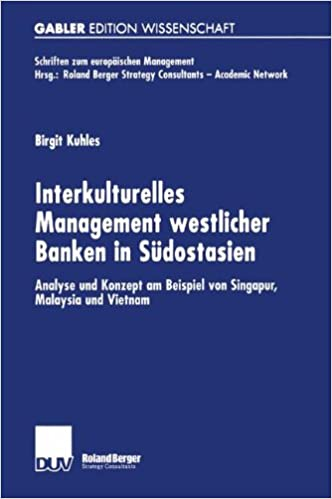 Gratis lydbøker for mp3-spillere gratis nedlasting Interkulturelles Management westlicher Banken in Südostasien: Analyse und Konzept am Beispiel von Singapur, Malaysia und Vietnam (Schriften zum europäischen Management) (German Edition)