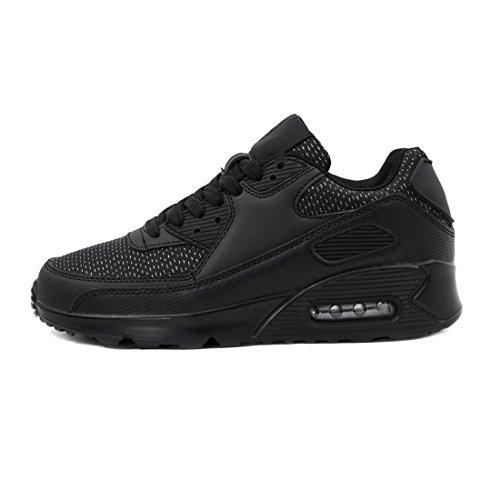 Unisex Glitzerschwarz Turnschuhe Laufschuhe Damen Marimo Herren Sneaker Trendige Sport Schnür Fitness Kinder OR5RZPxq