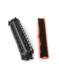 1 paquete de cartuchos de tóner negro compatibles con la mejor práctica.