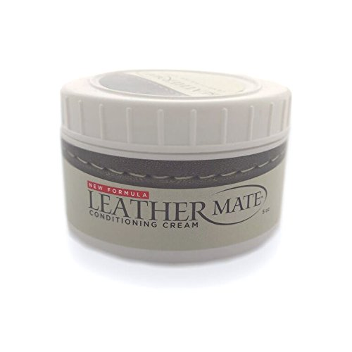Leathermate-Leather Cleaner and Conditioner-Cleans,Moisturizes,Protects All Leather-Tack, Shoes, Boots, Car Seats Come Clean and Shine Like New-Top Selling Leather Furniture Cleaner and Restorer
