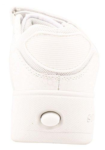 Elara - Zapatillas de Material Sintético para niño Weiss Skater Klettverschluss