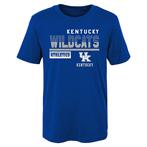 Wildcats Kids & Youth Boys Sonic Boom Basic Tee, Kids Small(4), Royal ()