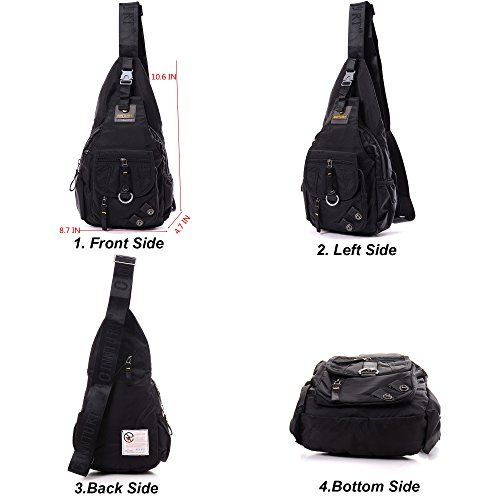 BIG SALE- DDDH Sling Bags Shoulder Backpack Chest Pack Military Crossbody  Bags for Man Women 233c9f54c6