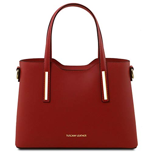 Rosso Ballet Olimpia A Borsa In Tuscany Leather Piccola PelleMisura Mano Pink ucl1FKTJ3
